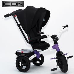 Трехколесный велосипед-коляска  VIP TOYS V5 черный