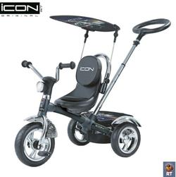 Велосипед Lexus Trike ICON 4 RT riginal black mat car с непрокалываемым колесом черный