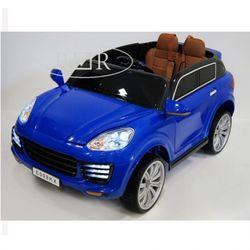 Электромобиль Porsche E008KX-BLUE с пультом