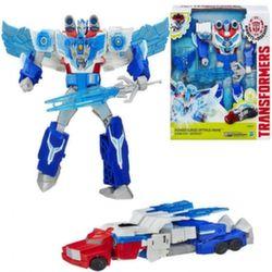 Transformers Роботы под прикрытием Заряженные герои Оптимус Прайм B7066