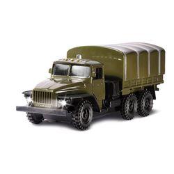 Машина Технопарк Урал военный инерционный, свет, звук CT-1054