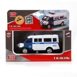 Машина Технопарк Газель Полиция инерционная X600-H09035-R