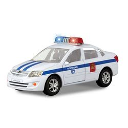 Машина Технопарк Лада Ларгус Полиция свет, звук SB-13-13-2