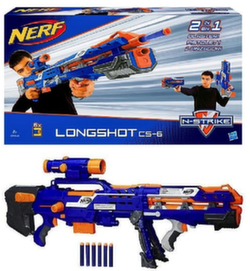 Бластер Нерф Лонгшот NERF N-Strike Elite Longshot CS-6 B5540