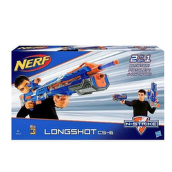 Бластер Нерф Лонгшот NERF N-Strike Elite Longshot CS-6 B5540