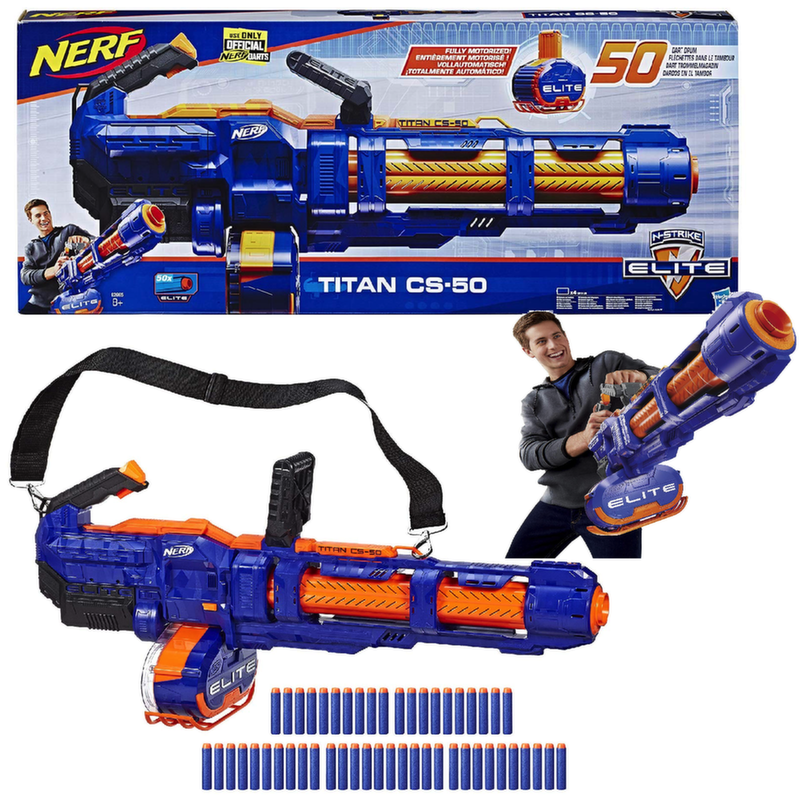 Бластер Нерф Титан Nerf Elite Titan CS-50 E2865EU4