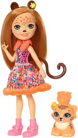 Энчантималс кукла Гепард с питомцем FJJ20