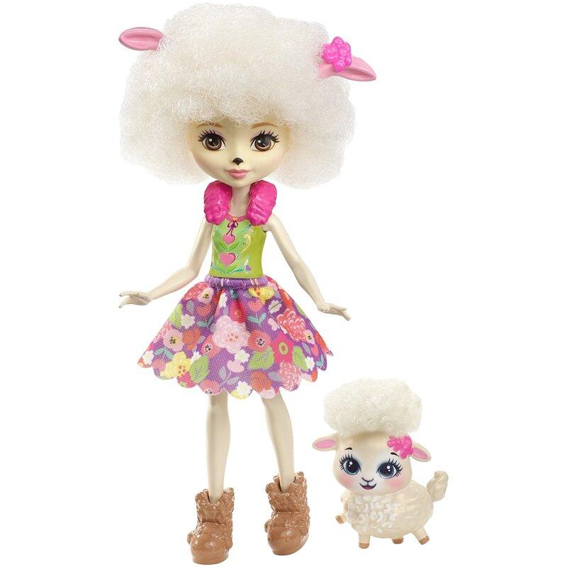 Энчантималс кукла - ягненок Лорна и питомец FNH25