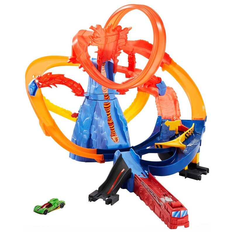 Хот Вилс Трек Сити Вулкан Hot Wheels  FTD61