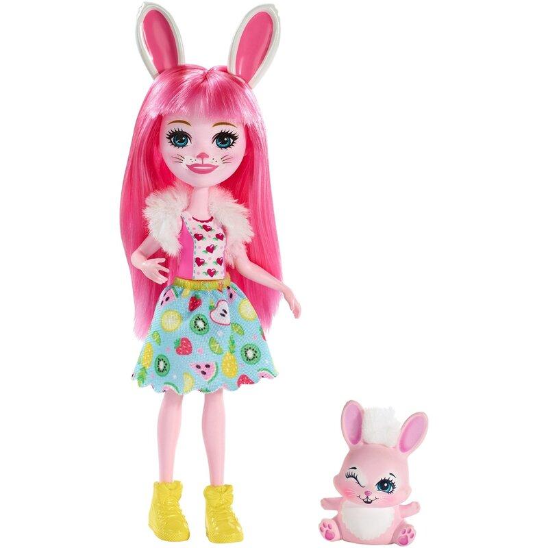 Энчантималс кукла Бри Кроля и питомец Твист FXM73