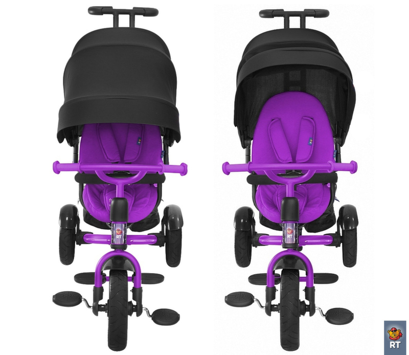 Велосипед трехколесный ICON elite NEW Stroller by Natali Prigaro Crystal