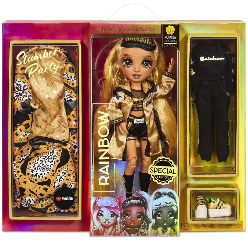 Кукла Rainbow High Marisa Golding Slumber Party