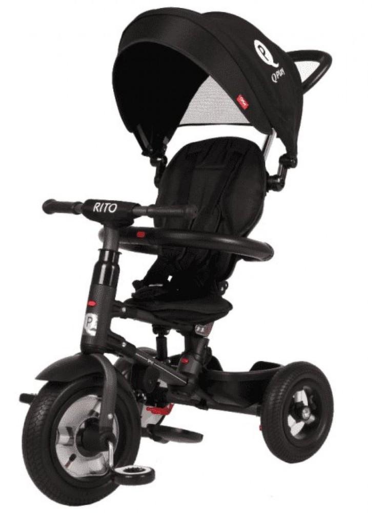 Велосипед складной трехколесный QPlay Rito QA6B черный