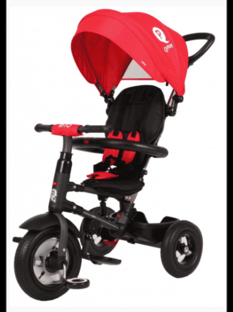 Велосипед складной трехколесный QPlay Rito QA6R красный