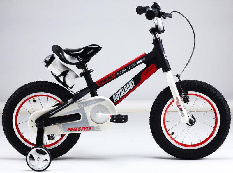 """Велосипед Royal Baby Freestyle Space №1 Alloy 14"""" чёрный RB14-17B"""