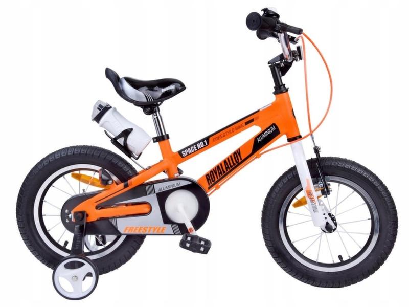 "Велосипед Royal Baby Freestyle Space №1 Alloy 16"" оранжевый RB16-17O"