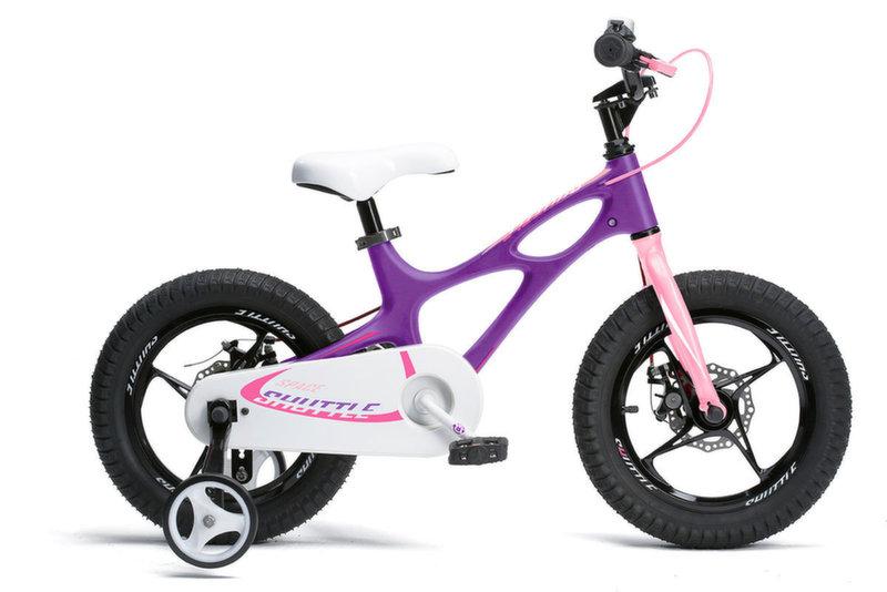 "Велосипед Royal Baby Space Shuttle 18"" фиолетово-розовый RB18-22F"
