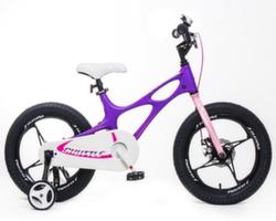 "Велосипед Royal Baby Space Shuttle 16"" фиолетово-розовый RB16-22F"