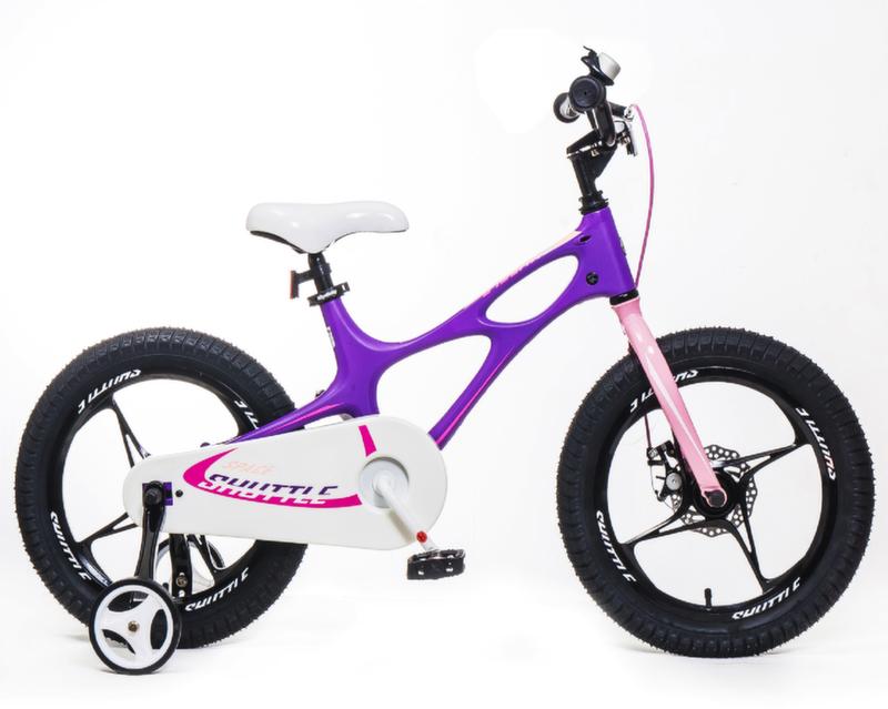"Велосипед Royal Baby Space Shuttle 14"" фиолетово-розовый RB14-22F"