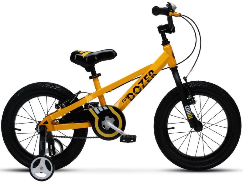 "Велосипед Royal Baby Bull Dozer 16"" жёлтый RB16-23Y"