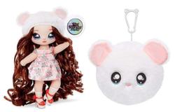 Кукла Na Na Na Surprise 2 серия Misha Mouse белый медвежонок569237_Misha