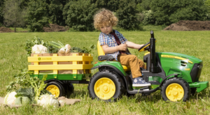 Педальные машины и трактора