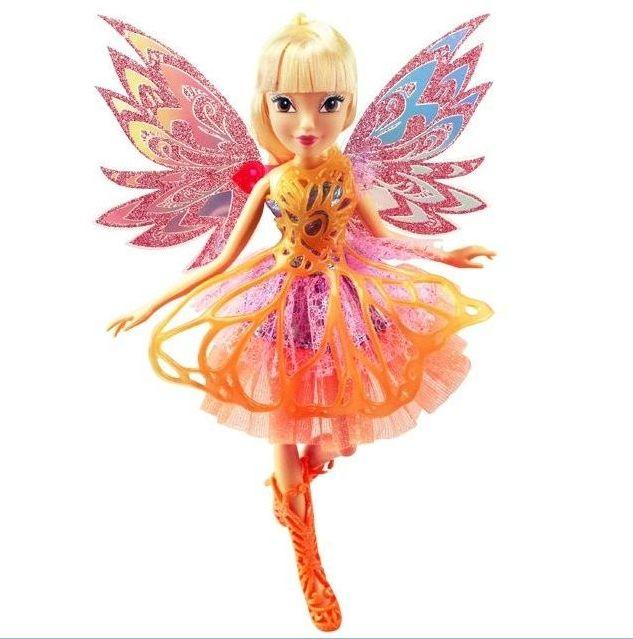 Кукла Винкс Стелла Баттерфликс-2 Двойные крылья 28 см IW01251500