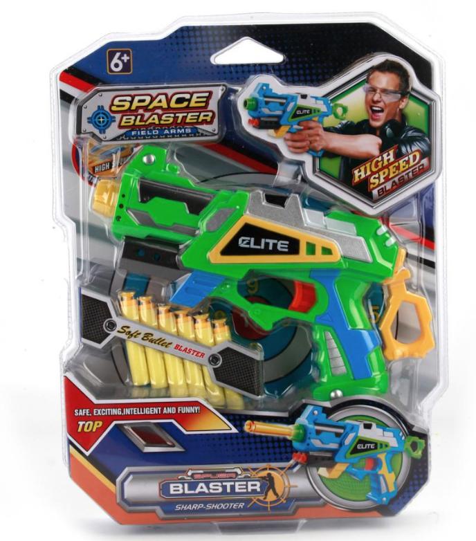 Бластер Elite с мягкими патронами  SB293