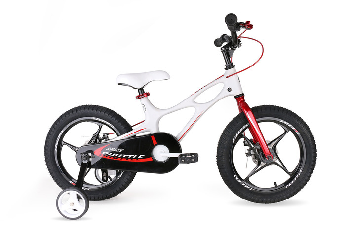 "Велосипед Royal Baby Space Shuttle 14"" белый"