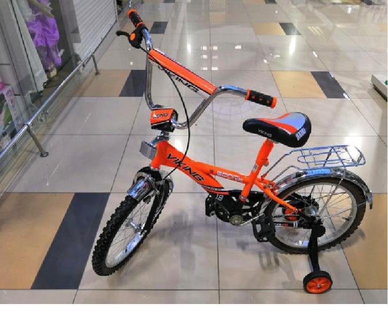 """Велосипед детский «VIKING SPORT» 18"""" оранжевый"""